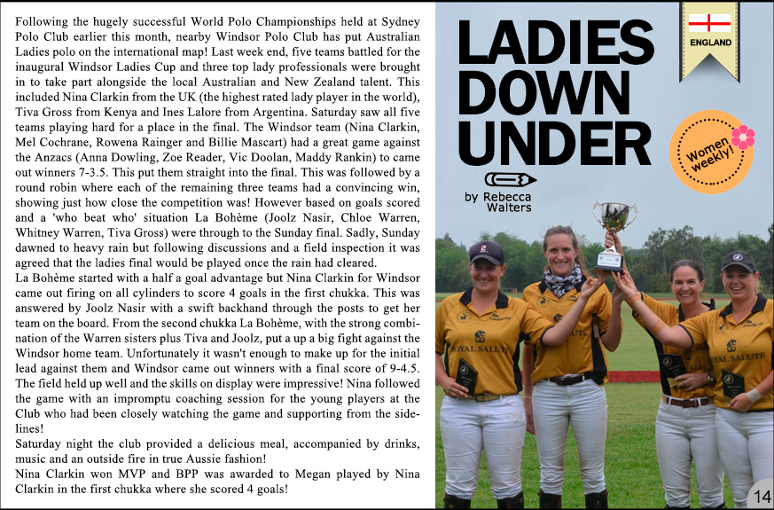 Click polo Ladies 2 Nov2017