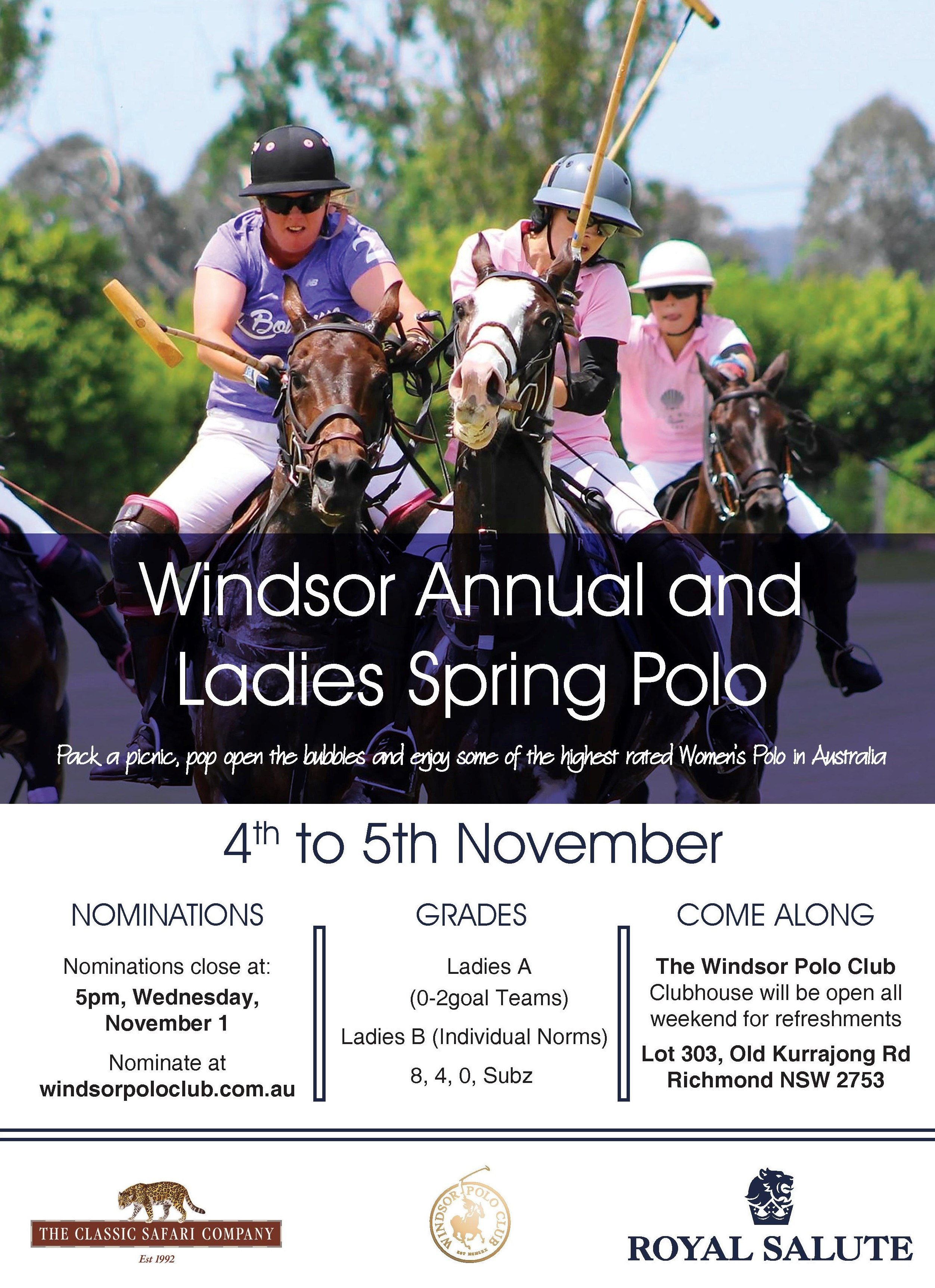 Windsor Annual Spring Ladies Flyer2017