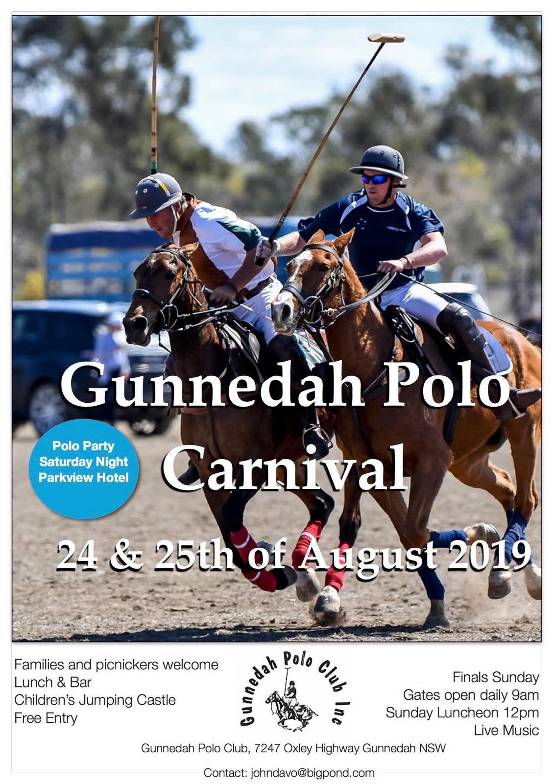 2019 Gunnedah polo nominations